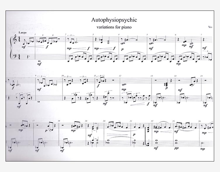 Autophysiopsychic (Variations for Piano)