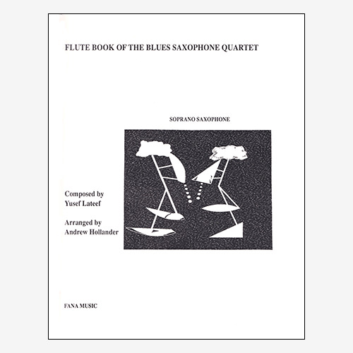 Flute Book of the Blues Saxophone Quartet