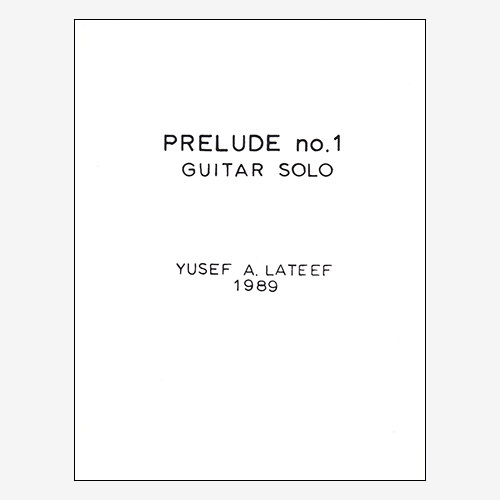 Prelude no. 1, Guitar Solo
