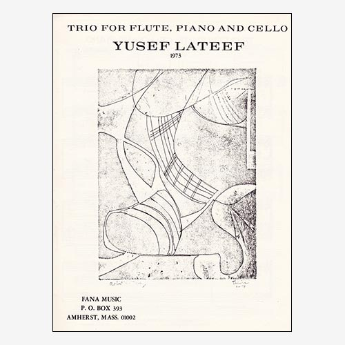 Trio for Flute, Piano, And Cello