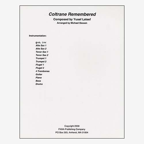 Coltrane Remembered (version 2)