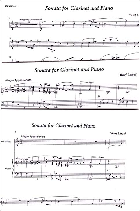 Sonata for Bb Clarinet and Piano