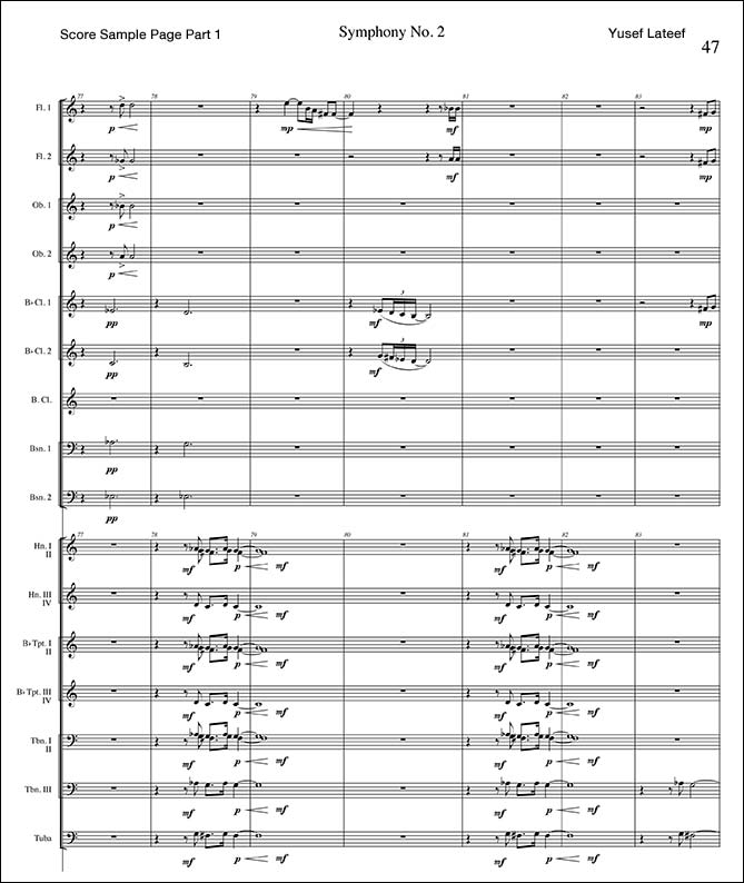 Symphony No. 2 <br><br>