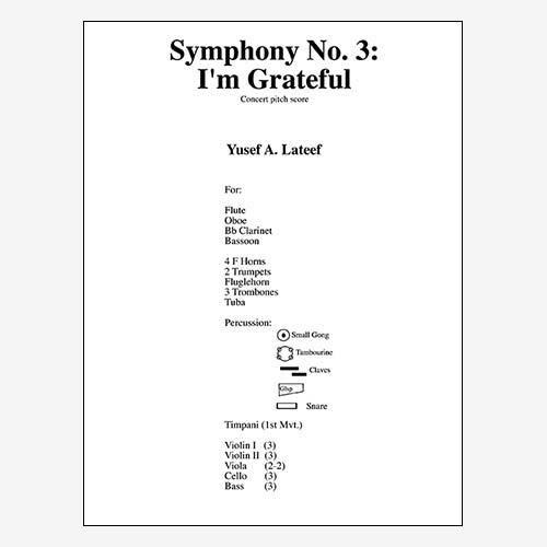 Symphony No. 3 (\