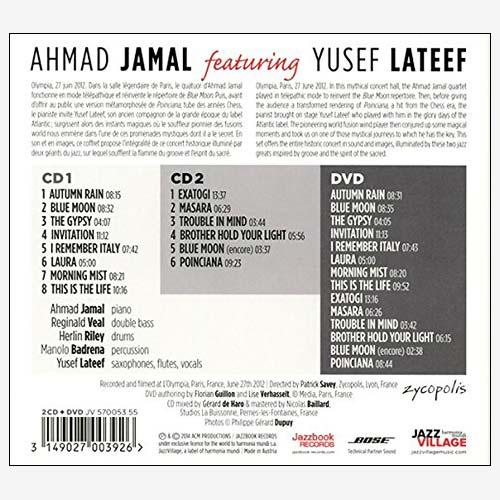 Ahmad Jamal & Yusef Lateef: Live At The Olympia * 2CD+1DVD