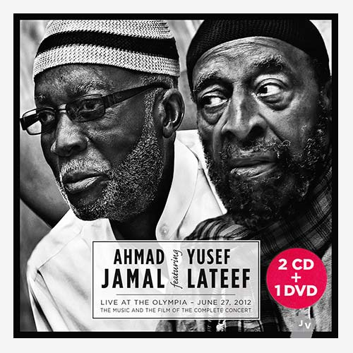 Ahmad Jamal & Yusef Lateef: Live At The Olympia * 2CD+1DVD