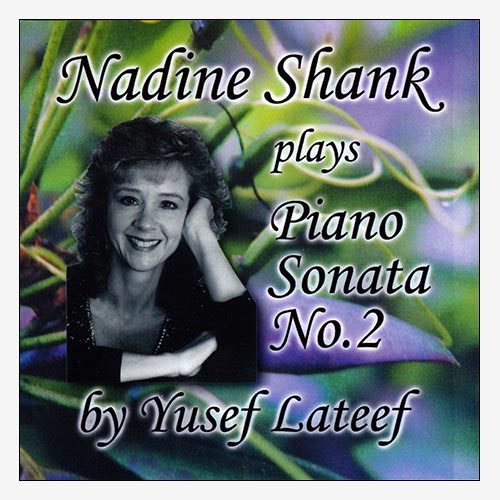 Nadine Shank plays Piano Sonata No. 2 by Yusef Lateef