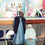 Yusef Lateef with late wife Tahira Lateef at Howard University - 2001