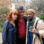 Yusef Lateef with Simone Furbringer and Nicolas Humbert (co-director of 'Brother Yusef' documentary) - Germany, 2012