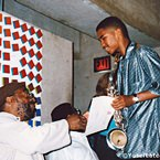 Yusef Lateef with Student