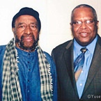 Yusef Lateef and Fred Irby lll, Howard University Jazz Ensemble Director