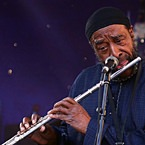 Yusef Lateef at the Detroit Jazz Festival, 2007 (photo - Andrew Krupp)