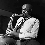 Yusef Lateef at Grant Green's Grantstand session, Englewood Cliffs NJ, August 1 1961 (photo - Francis Wolff)