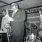Yusef  Lateef at Lennie's on The Turnpike, Peabody, MA - April, 1964 (photo - Salem State Archives)