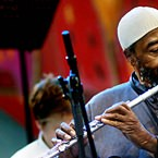 Yusef Lateef at the Vienna Jazz Festival, July, 2006 (photo - Jeff Pachoud)